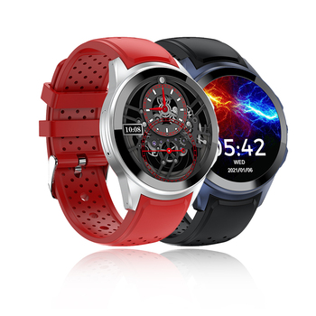 4G GPS Smart watch Phone watch Android 9.1 Dual system 72H Long battery life AMOLED 454x454 Display HQ SIM Card watch phone LT10
