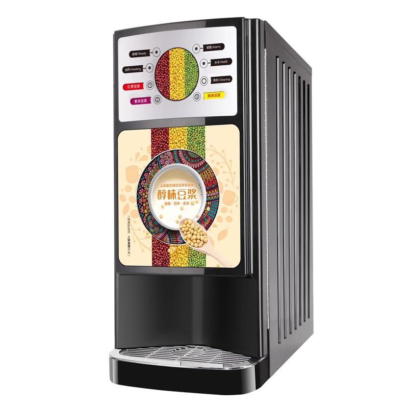 Офис автоматический сенсорный Горячая столешница экрана торгового автомата машина для растворимого кофе