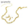 18k Gold plated-jewelry set