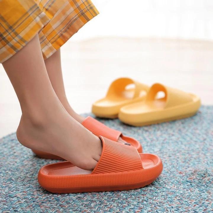 bedroom Universal Quick-drying Thickened high heel indoor Non-slip Sandals