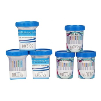 Professional workplace Drug Testing Kits, 5 6 7 10 11 12 13 14 16 panel DOA cup, drugtest rapid diagnostic test kit