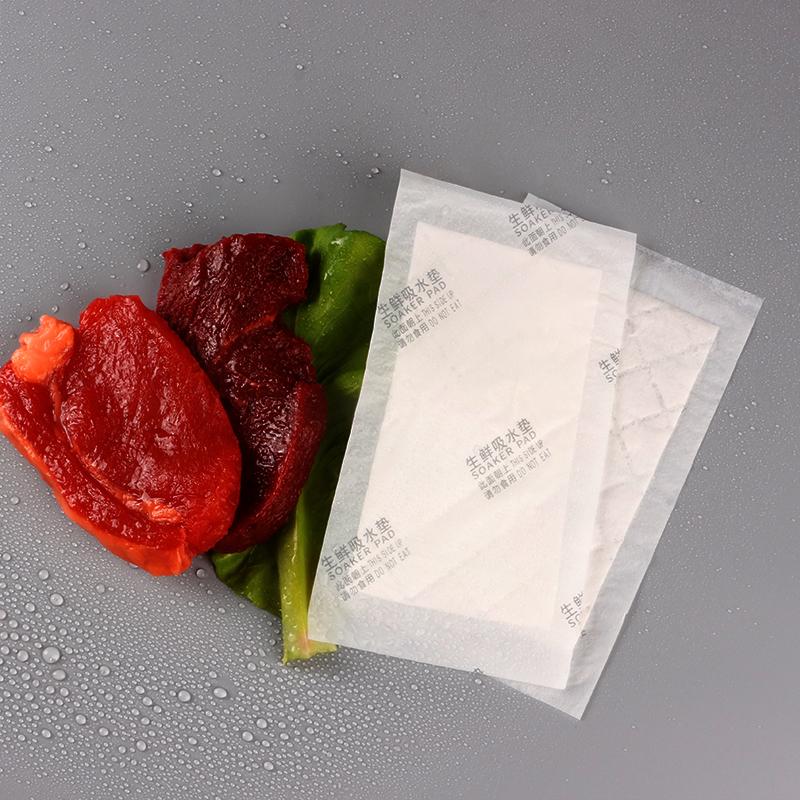 Оптовая продажа, впитывающая упаковка Soaker 170x100 мм, упаковка для пищевых продуктов, подушечки для птицы, коврик для мяса