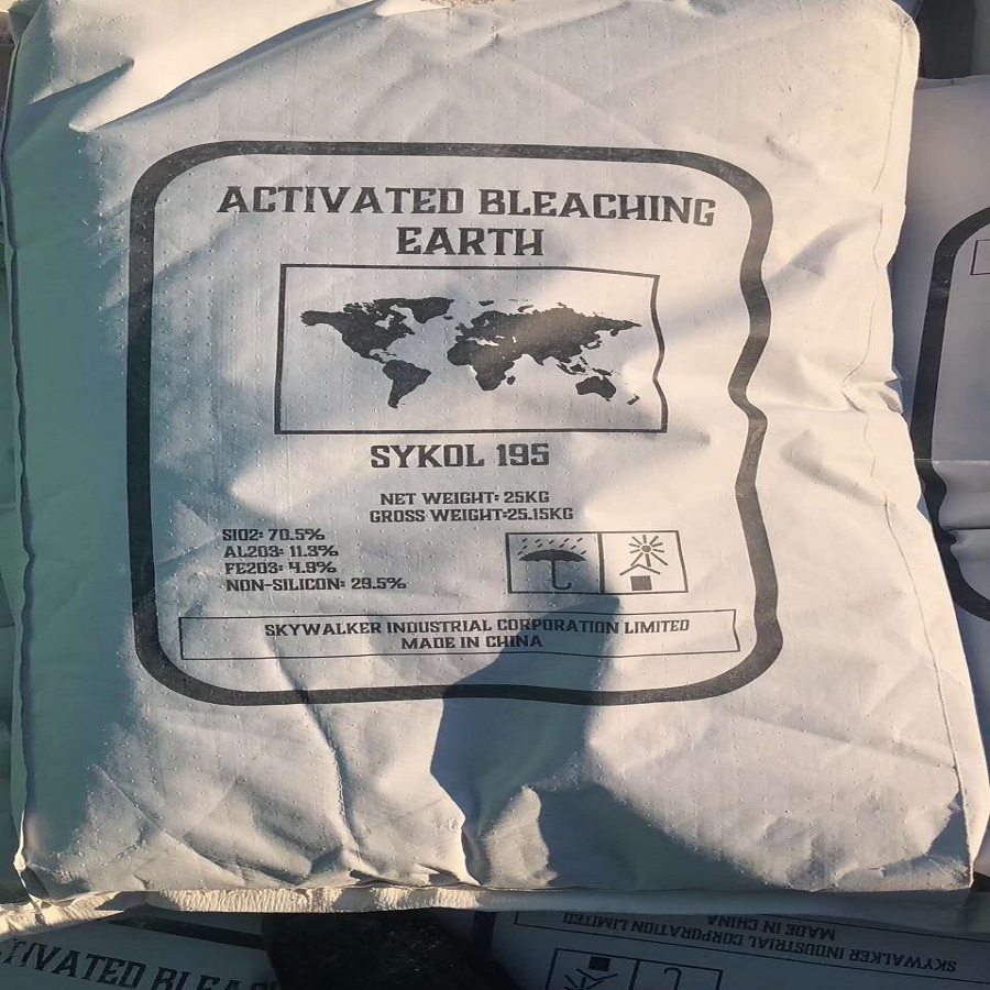 Activated Bentonite Bleaching Earth