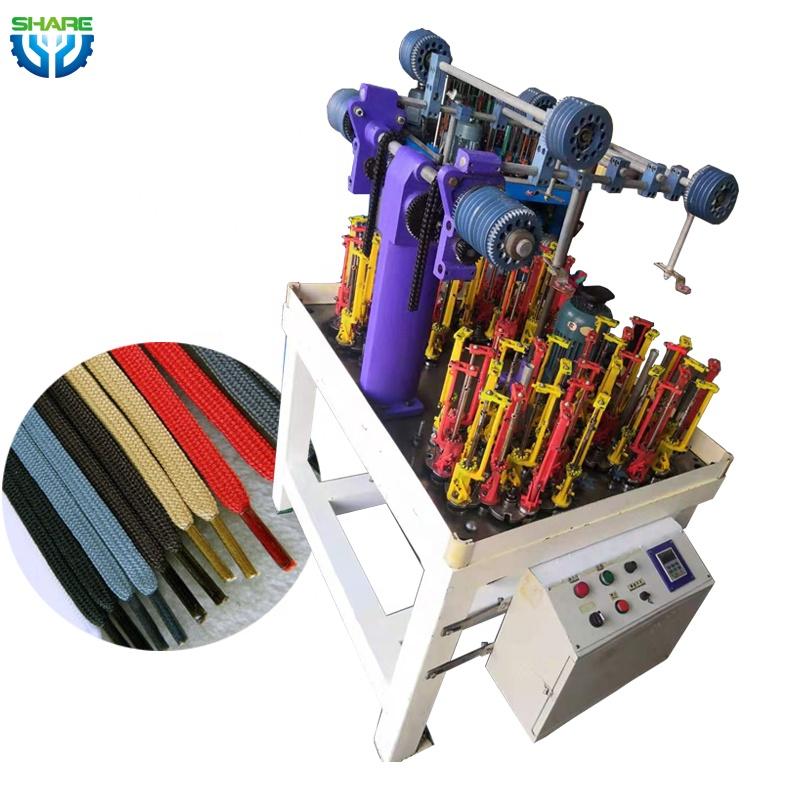 Lace Braiding Machine for Yarn Shoelace Making Machine