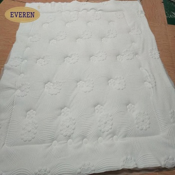 Raw Material Polyester Quilted Fabric Panel for Bed Mattress
