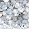 SS12-White Opale Con Strass