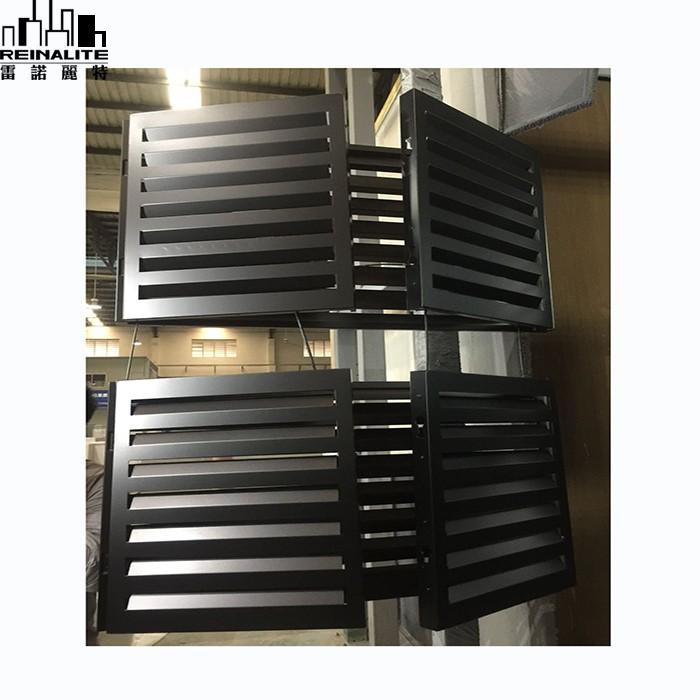 Aluminum Metal Air Conditioner Outdoor Conditioning Device Cover