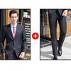 Men Navy suits(blazer+pants)
