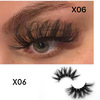 X06 25mm mink lashes