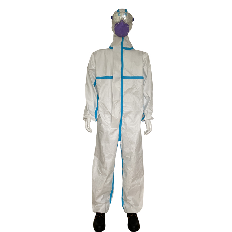 Disposable Men's Suit Protection Clothing Type 5B/6B Clothes Protection Overalls Suits - KingCare | KingCare.net