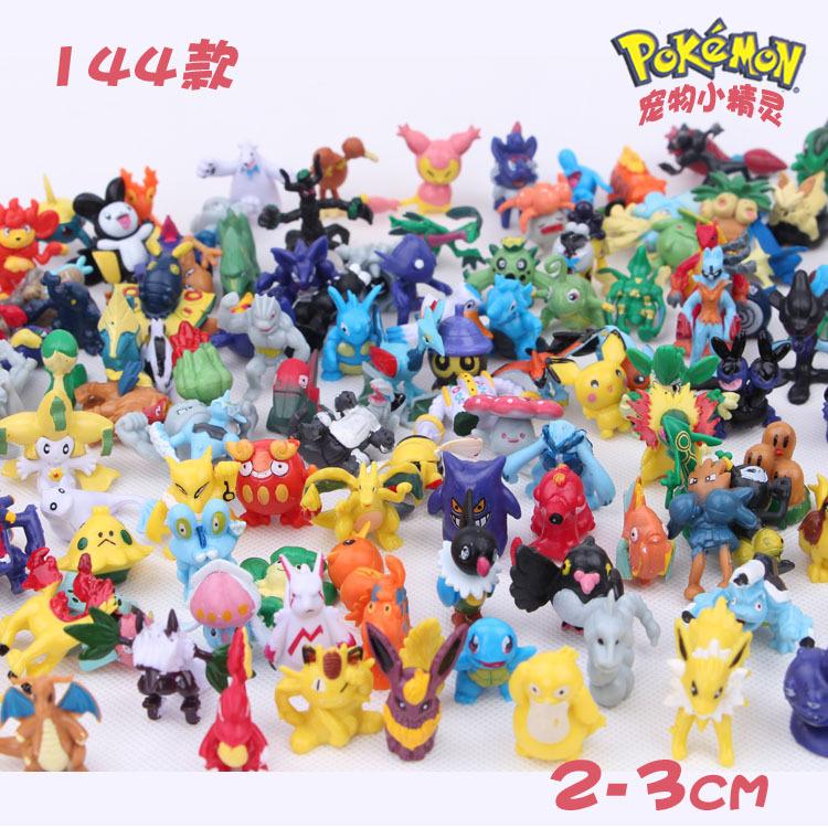 Покемон 144 модели Покемон кукла Пикачу микро ландшафт украшение куклы Набор фигурок
