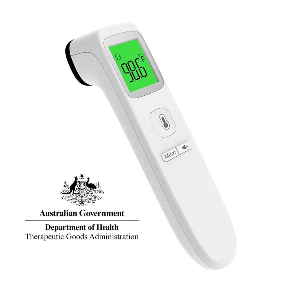 Медицинский Домашний цифровой ЛОБНЫЙ термометр Finicare для детей и взрослых