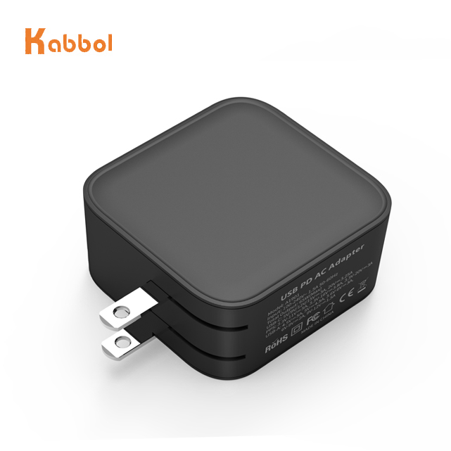 2020 China Manufacturer100W 65W 61W KC GaN Charger USB C Type Adapter KC Approved Portable 3 Ports with Multi Plug for Laptops