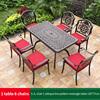 11-6 JL chair 1 oblique line pattern table 135*77cm