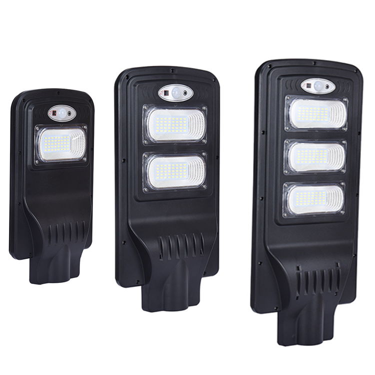 IP65 IP Rating and CE Certification integrated solar led street light for outdoor