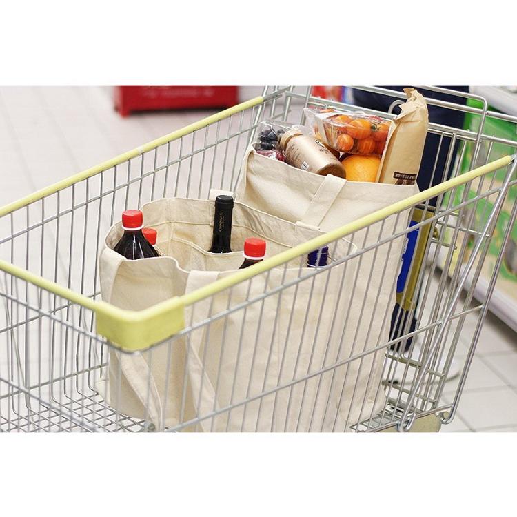 Eco friendly supplier cheap custom plain body fabric heavy duty canvas shopping bag