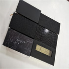 China Manufacture Black Plastic Packaging Diamond Eyelash Box With Fast Shipping