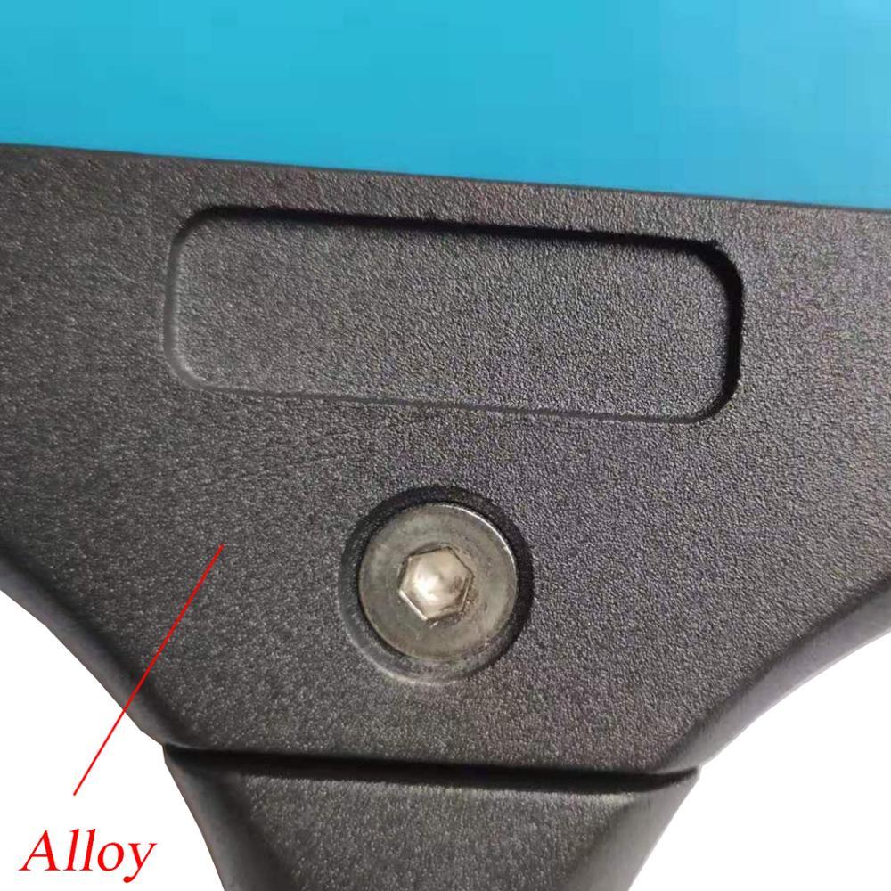 Гибкий скребок из алюминиевого сплава для установки автомобильных упаковочных инструментов B25