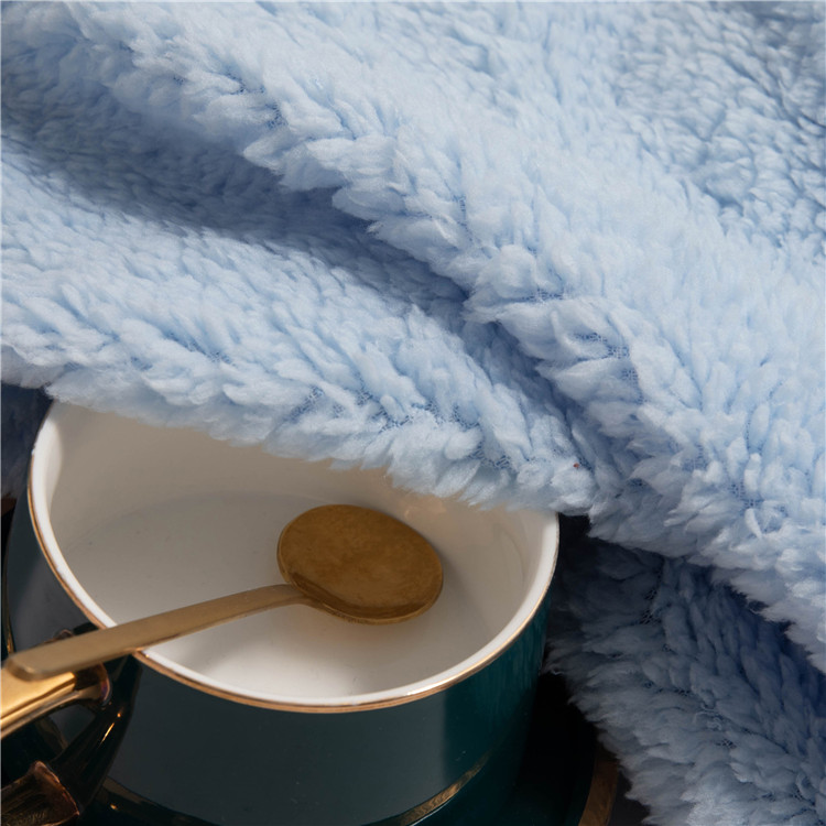 High Quality Durable Using Various 100% Polyester Kintted Sherpa Fleece Fabric
