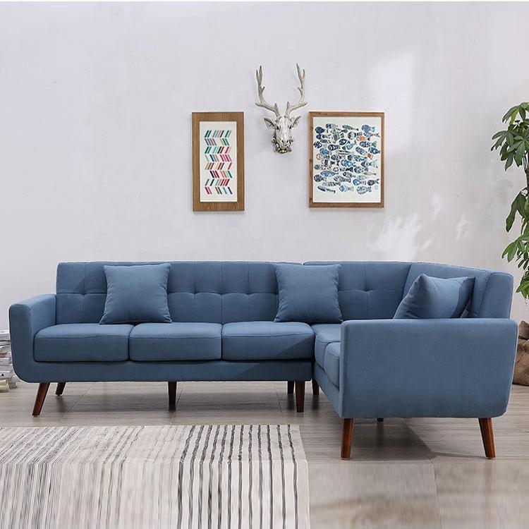 Wholesale sofa furniture modern corner fabric sofa reclining sofa