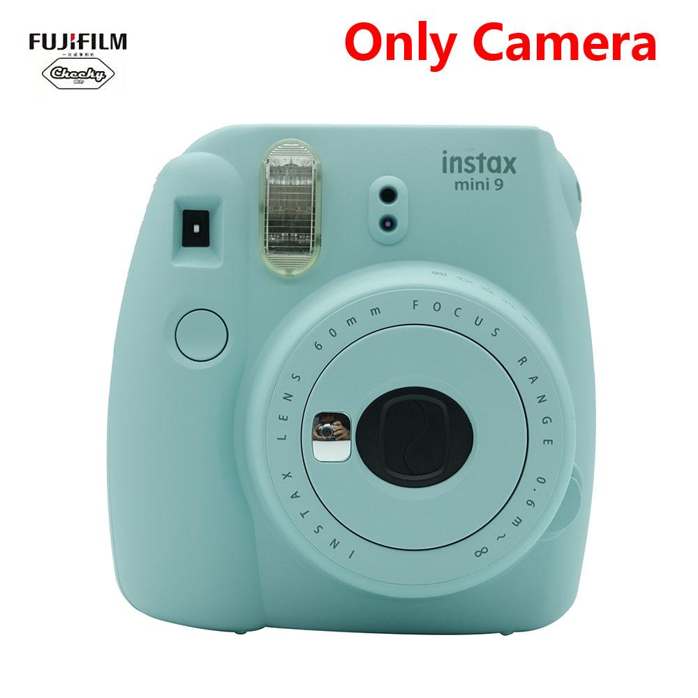 Фотокамера моментальной печати Fujifilm Instax Mini 9, фотокамера Fujifilm Instax Mini 9, фотокамера, рождественский подарок, Новинка(Китай)