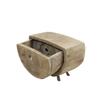 Home Decoration flower pot wood storage box original crative design hand-made gift rustic ornaments decoration furniture