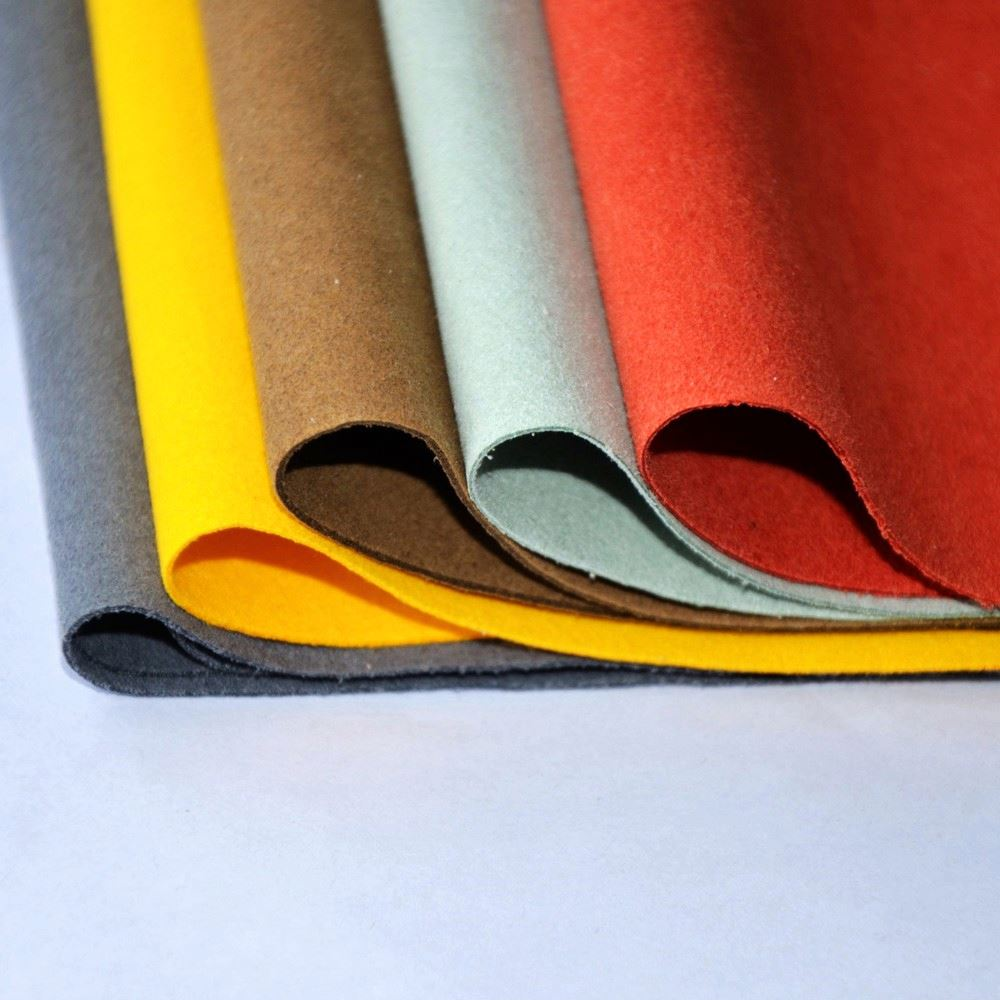 Factory direct sales of artificial leather microfiber PU patent vinyl leather fabric