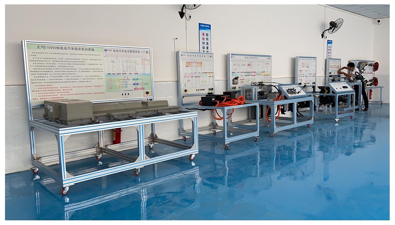 液压助力转向系统实训台