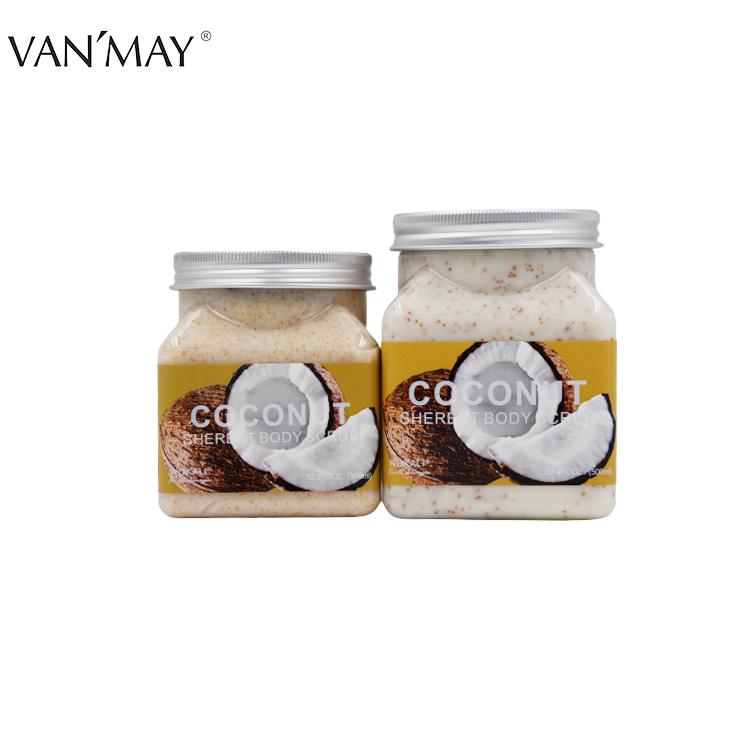 Wholesale Natural Fruit Charcoal Exfoliating Whitening Moisturizing Body Scrub