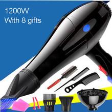 DMWD фен для волос с холодным и горячим ветром электрический фен с мотором переменного тока профессиональный фен для парикмахерских салонов ...(Китай)