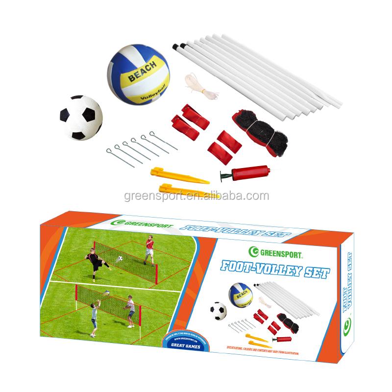 Лидер продаж, Набор для игры в футбол и волейбол на открытом воздухе с сеткой для обучения детей