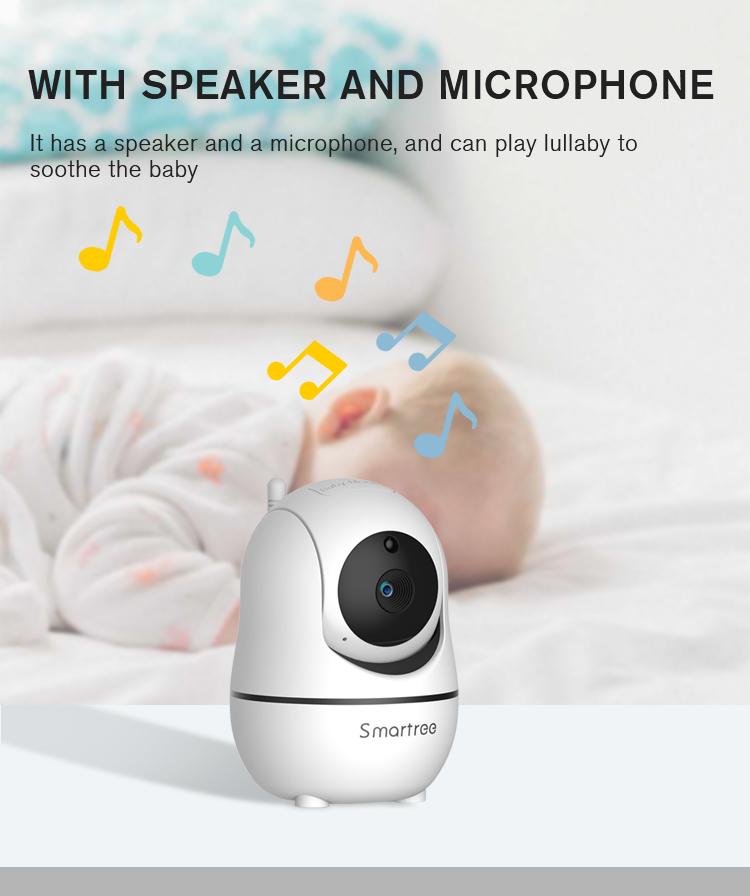 Название бренда, детский Интерком дальнего действия, мониторинг, беспроводная видеокамера с обнаружением, аудио, радионяня, дисплей, Wi-Fi