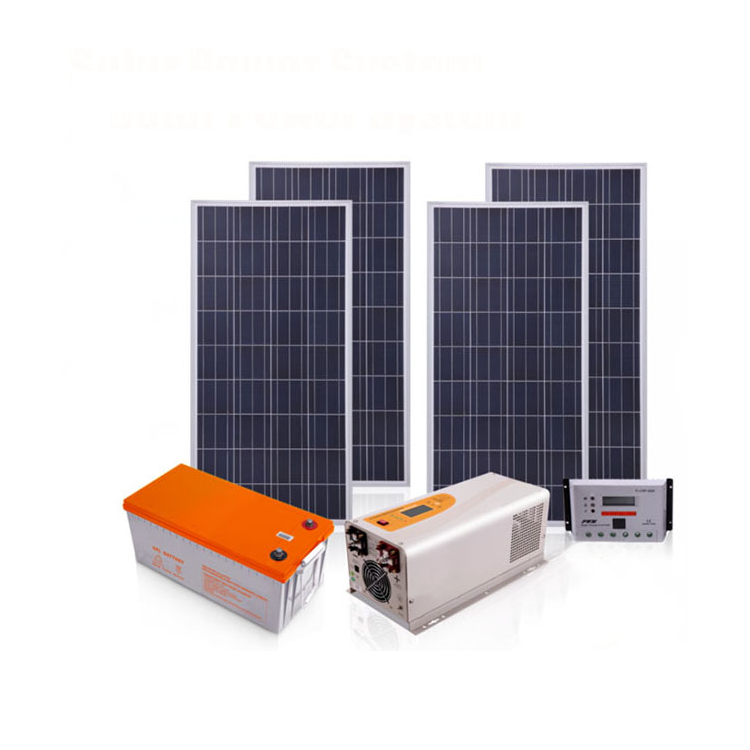 Yifan 5kW 6kW photovoltaic solar panel complete system 1200W solar system roof installation kit with battery
