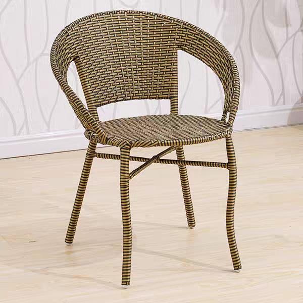 Новейшая обувь для отдыха из водонепроницаемого материала на террасе садовой мебели из ротанга открытый стул мебель