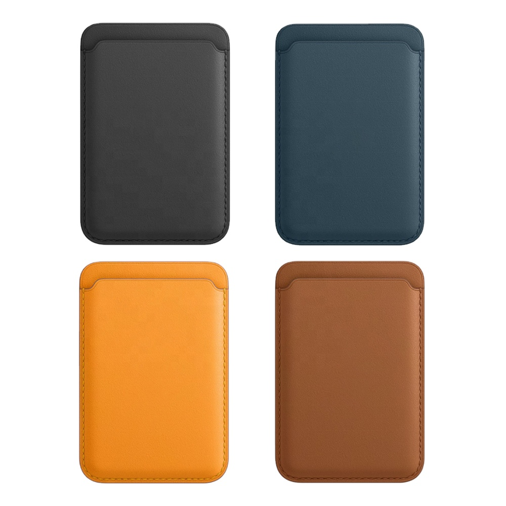 New Arrival PU Magnetic Mobile Phone Accessories Leather Wallet Magnet Phone Pouch Case For Iphone 11 12 Pro Max
