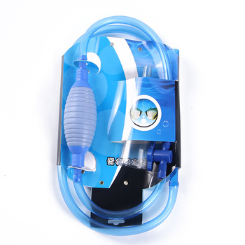 Semi-automatic Fish Tank Water Air Pump with Strainer Assembly Environmental Protection Pipe Hose
