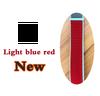 light blue red