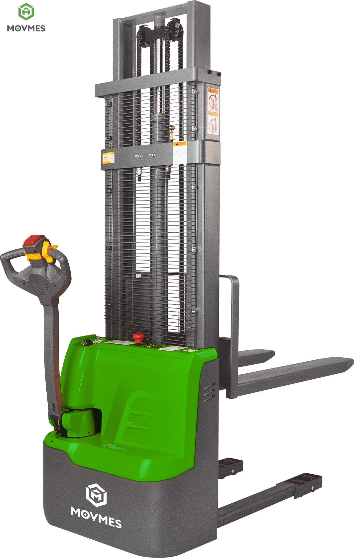 Movmes 1 ton power electric pallet stacker CDD10R-E