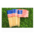 Wholesale eco-friendly wooden usa flag toothpick for decoration