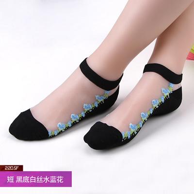 NEST Hyrax trends женские прозрачные кружевные чулки с мультяшными цветами прозрачные кружевные женские сексуальные модные кружевные чулки(Китай)