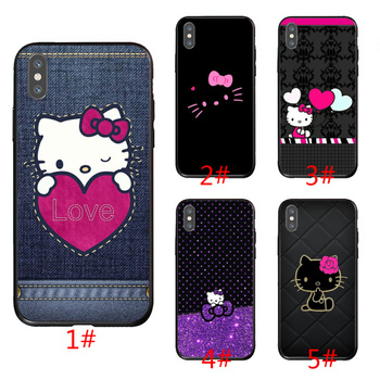 hello kitty phone cover for iPhone6/6S.6plus/6s plus iPhone7/8.7/8 plus iphone X.XS.XR.XS max iphone 11.11 pro .11 pro max case