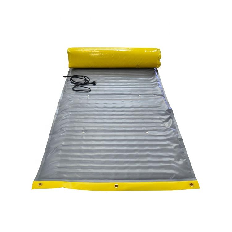 Outdoor Road Snow Melting Heating Mat Tank Antifreeze Electric Melt Heating System Huanrui Modern Graphic Design 1000w 20w/m Pvc