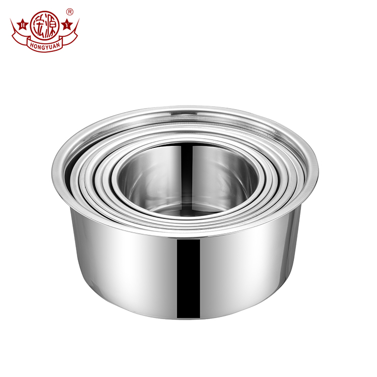 New arrival cooking appliance parts kitchen accessories stainless steel inner pot set