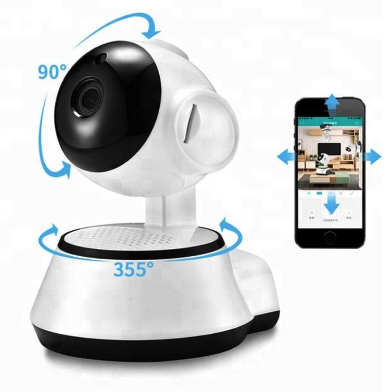 Домашняя безопасность ip-камера Беспроводная умная WiFi камера Wi-Fi аудио запись видеонаблюдения радионяня беспроводной ХД Мини камеры видеонаблюдения