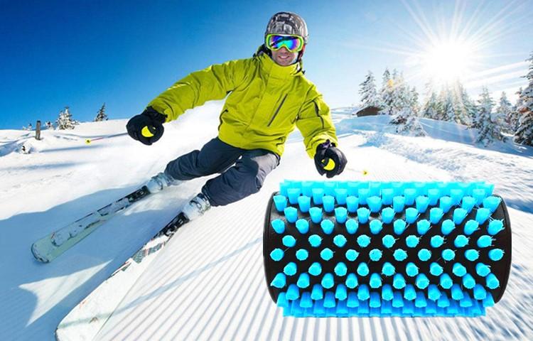 Brass Bristle Snowboard Ski Wax Roto Brush Kit