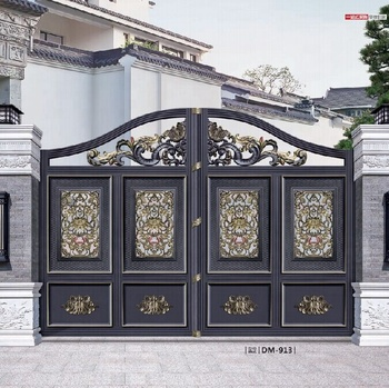 Luxury Decorate Aluminum Main Gate and Front Gate Designs
