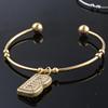 Gold Colour:Letter+Bangle