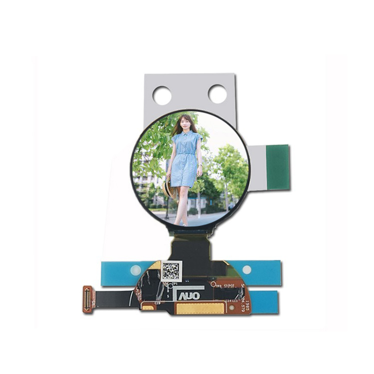 1.2 Inch 390*390 round oled display full vieewing angle with mipi dsi interface oled display