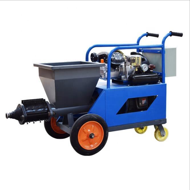 220 В мотор, автоматический насос для распыления пескоструйной растворы/машина для изготовления настенного цемента и штукатурки для строительства
