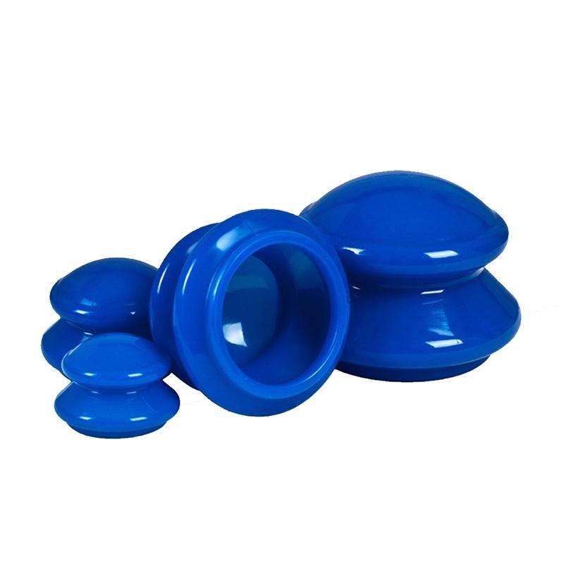 Прозрачная силиконовая чашка beautycare для терапии, 6*4,5 см, один размер